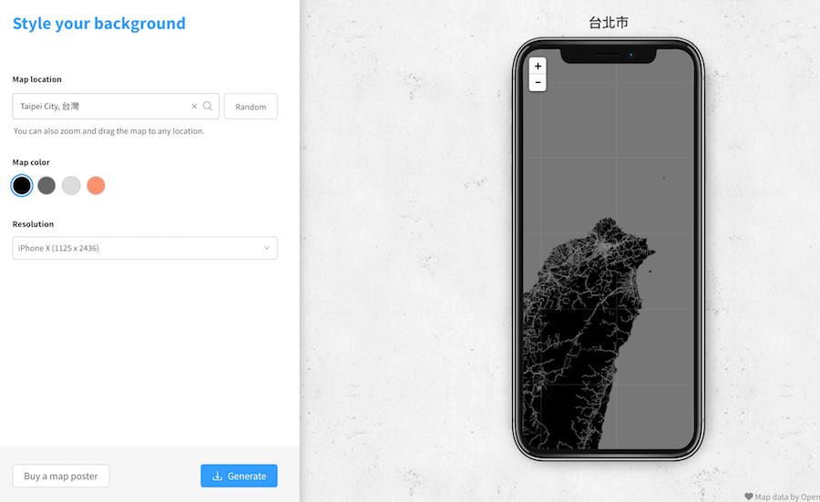 質感桌面 iPhone X