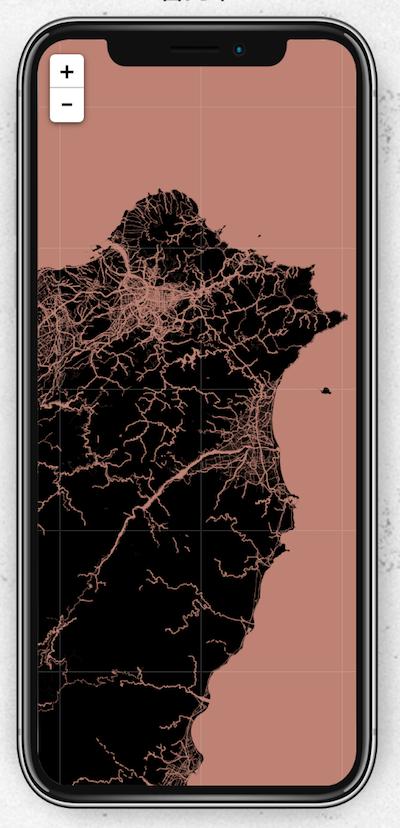 Altas Wallpaper iPhone 好看桌面 地圖製作