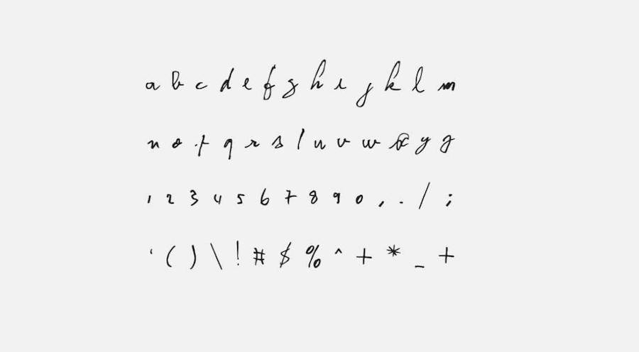 賽日甘絲柏字型 免費手寫字體