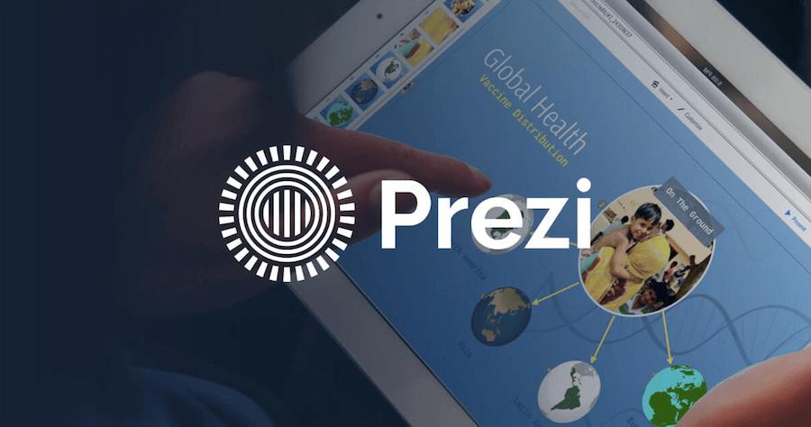 Prezi 取代PPT的簡報 生動簡報
