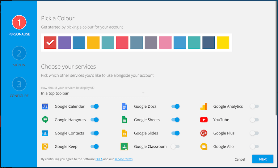 Google 服務 太多怎麼辦