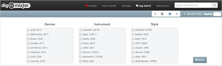 dig.ccMixter 免費 影片配樂 背景音樂 遊戲音樂