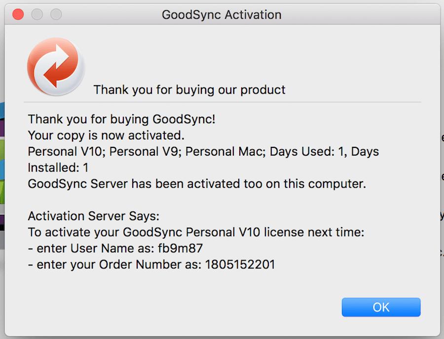 GoodSync Mac Windows 同步備份工具