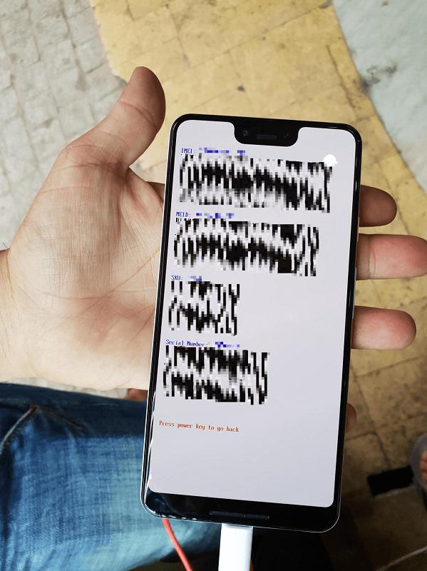 Google Pixel 3 XL 規格