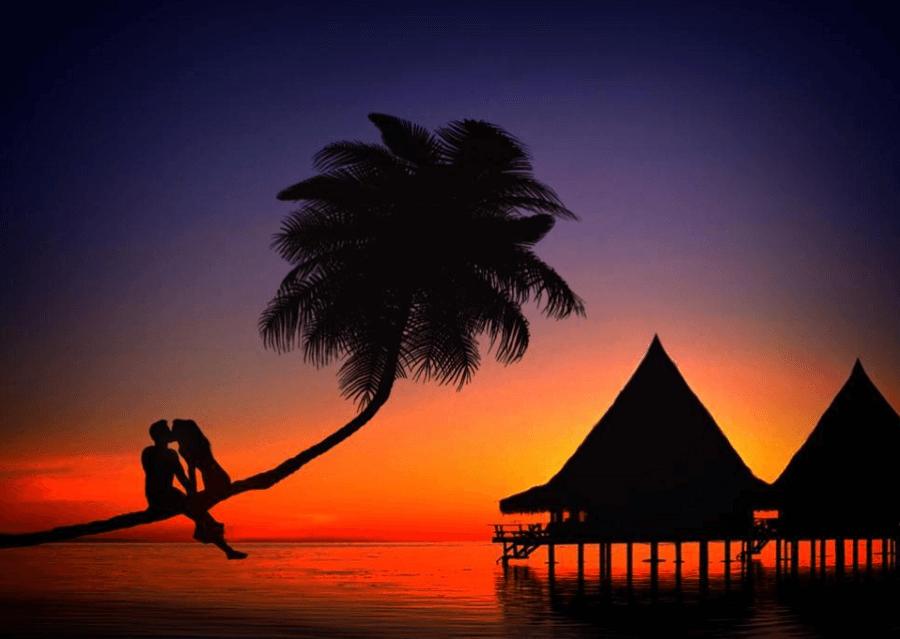 可商用夕陽圖片下載