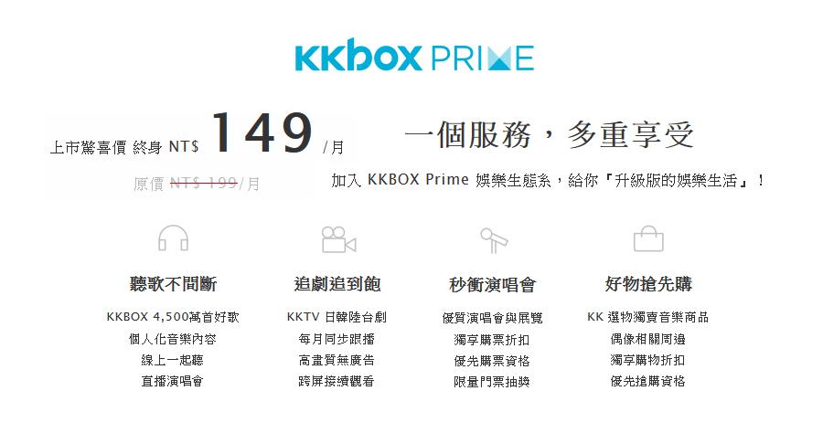 KKBOX 149申請方式