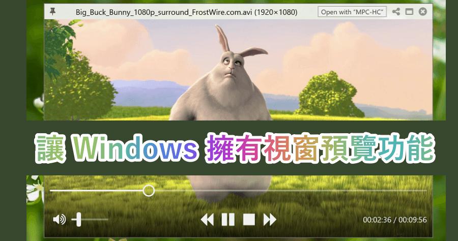 windows quicklook