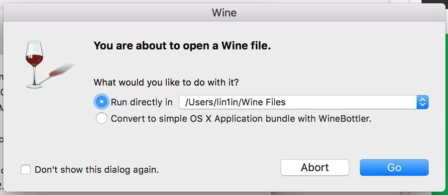 Mac執行Windows程式
