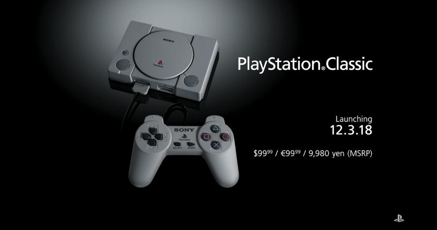 PS Classic 迷你復刻版