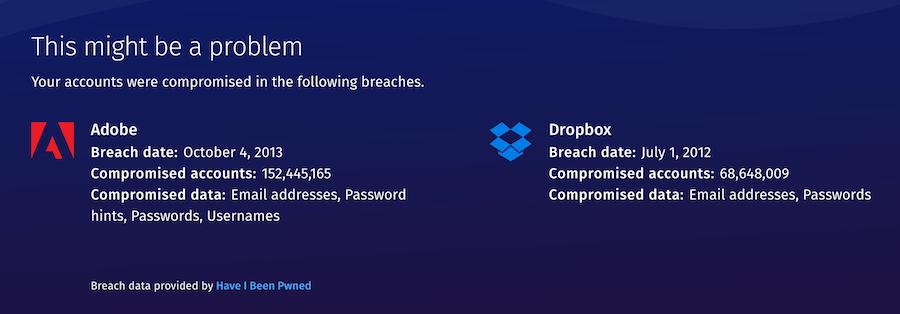 帳號密碼安全