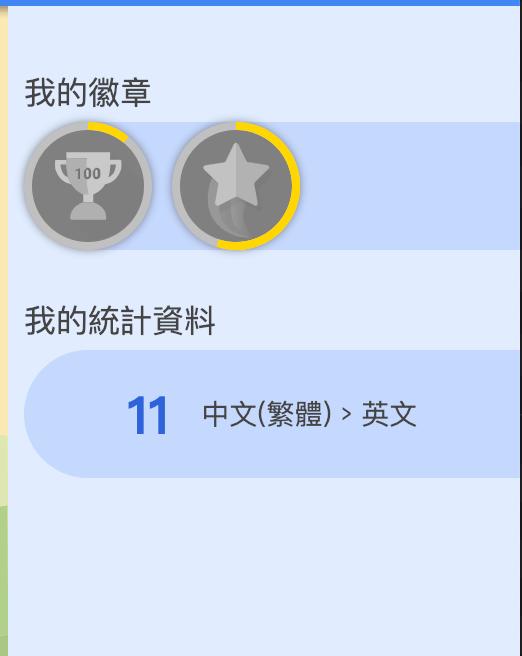 Google翻譯社群徽章