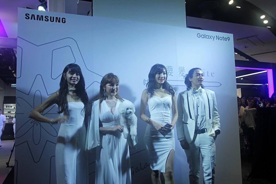 Galaxy note 9 初雪白開賣時間
