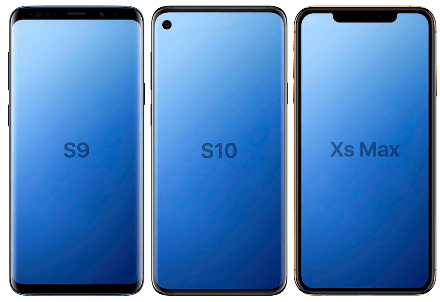 Samsung Galaxy S10外觀