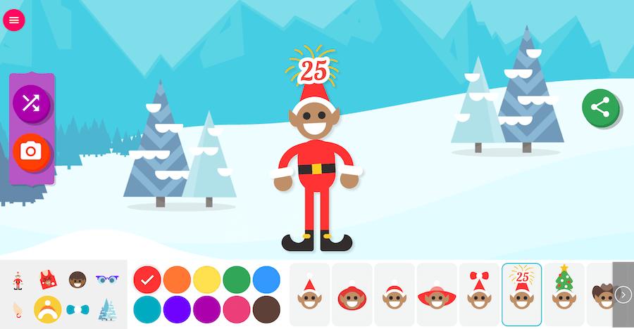 Google 聖誕老人追蹤器