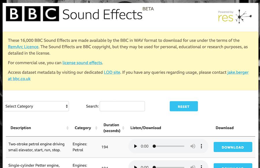 免費音效庫