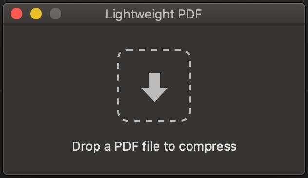 Mac PDF壓縮軟體下載