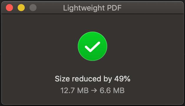 Mac PDF 壓縮