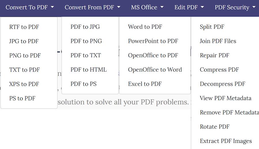 PDF轉Excel