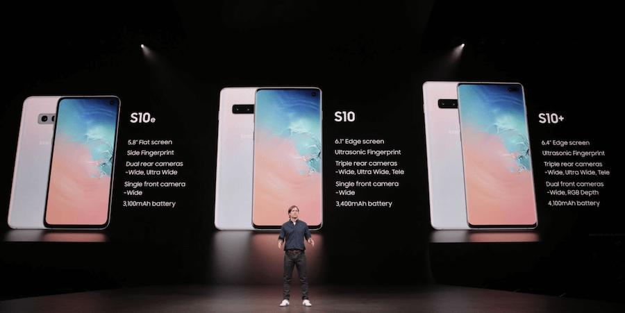 Galaxy S10 開賣日期