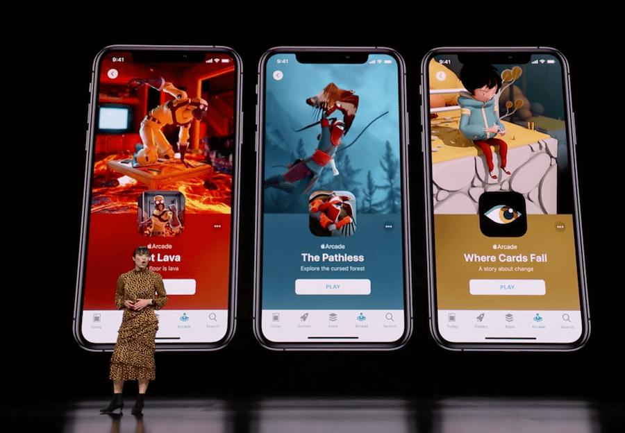 Apple Arcade 遊戲訂閱平台