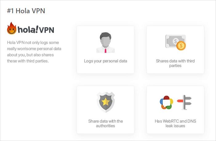 不安全VPN有哪些