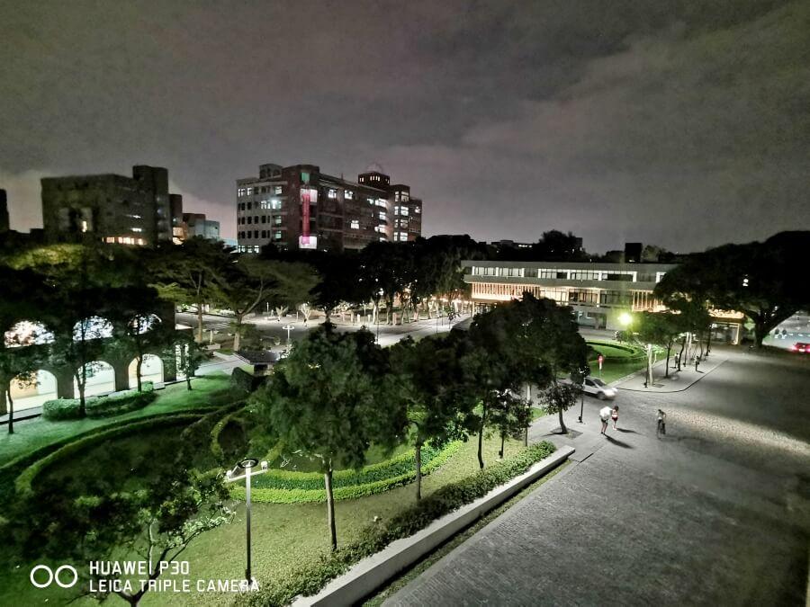 HUAWEI P30 廣角夜拍