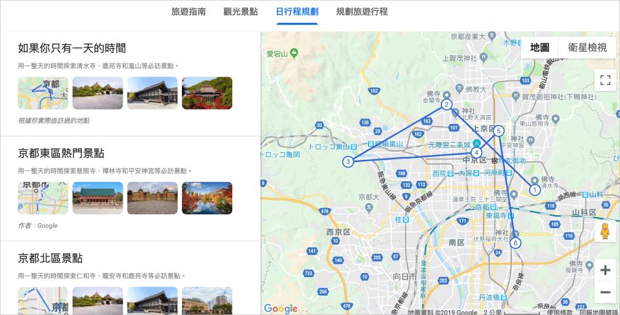 Google 旅程