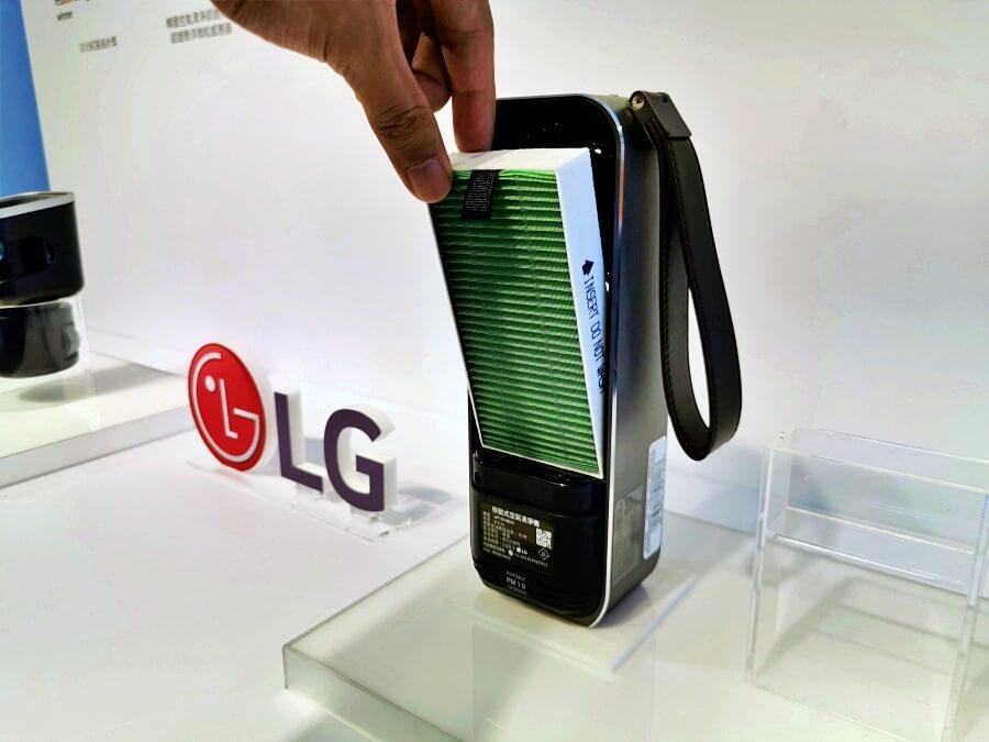 LG 隨身淨汽車杯架