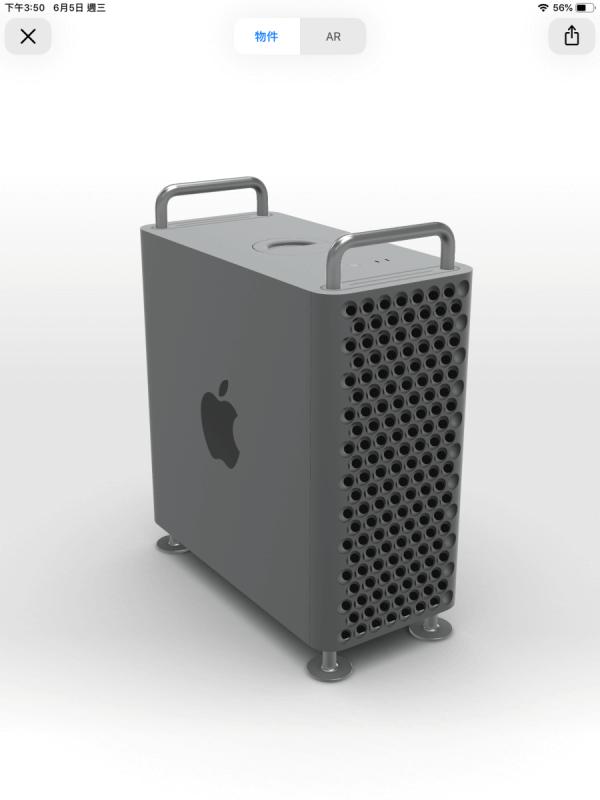 Mac Pro 出現在相機裡