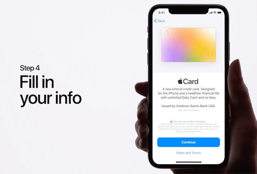 Apple Card 如何申請