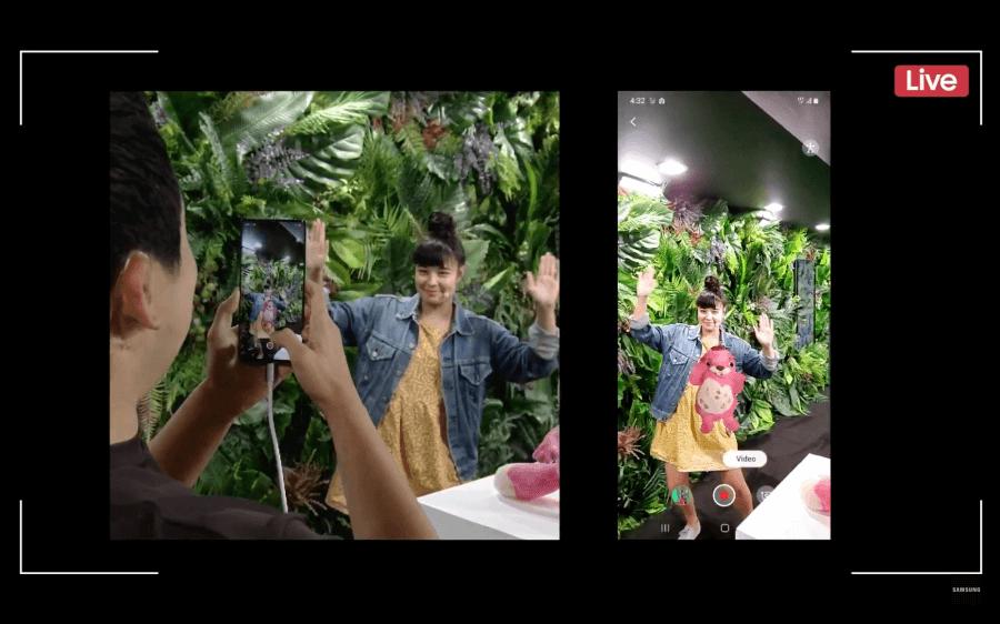 Galaxy Note 10 3D掃描
