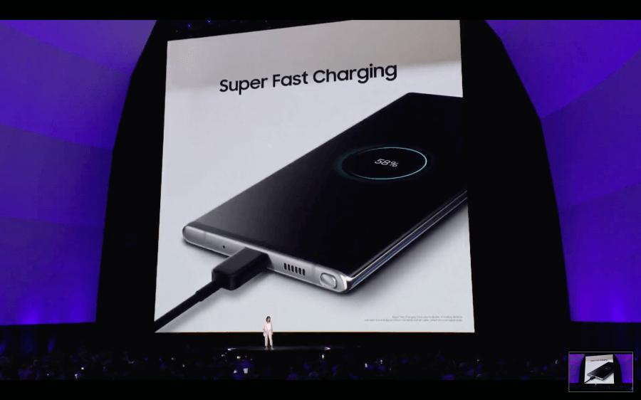Galaxy Note 10 45W快充