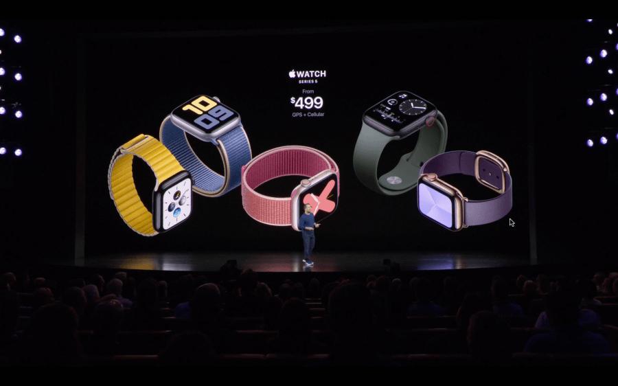 Apple Watch Series 5 上市日期