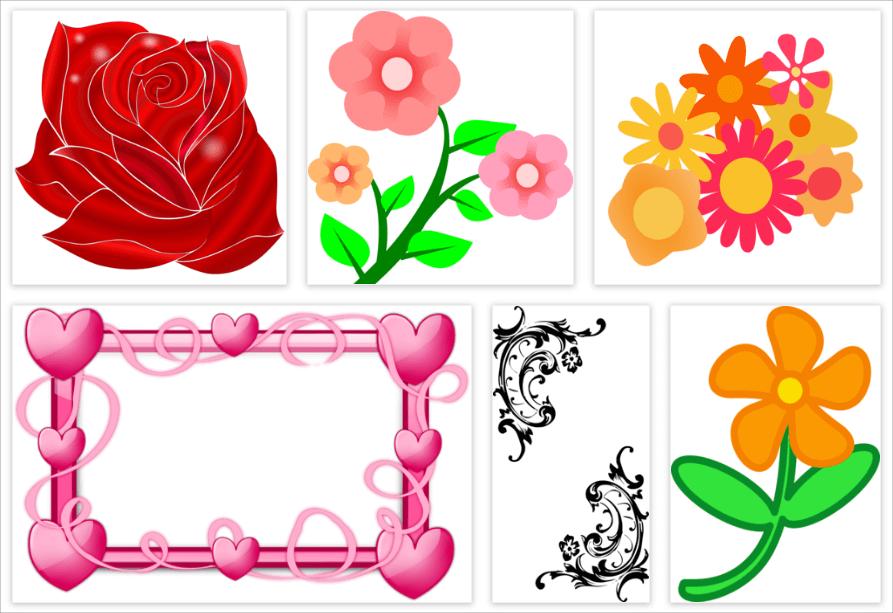花插畫素材下載