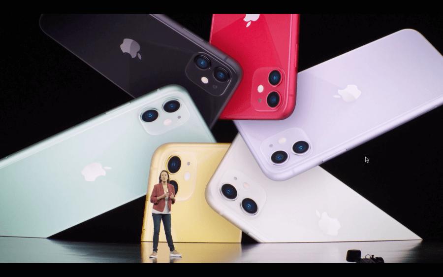 iPhone11顏色