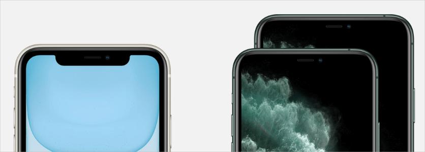 iPhone 11 和 iPhone 11 Pro 不同