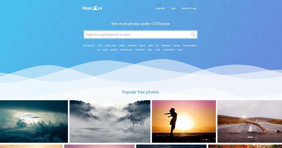 Hippopx 採用 CC0 授權,大量高品質免費可商用圖片