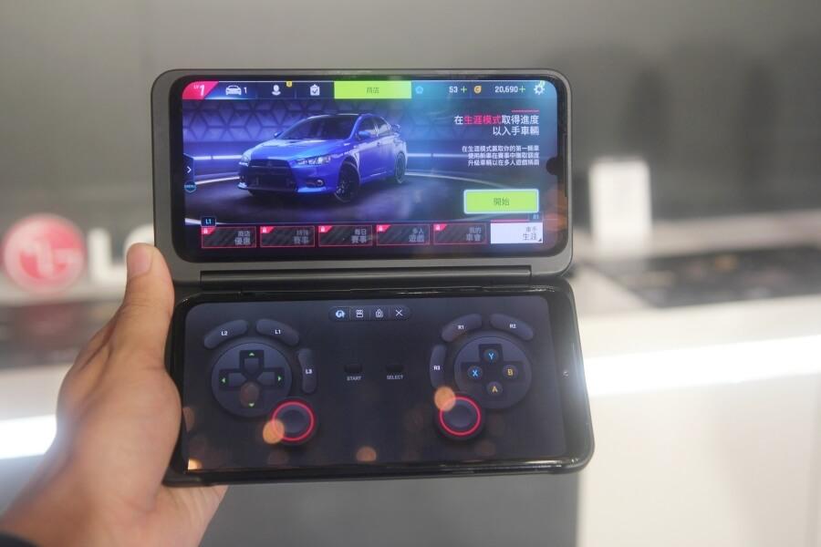 LG G8X ThinQ 雙螢幕應用