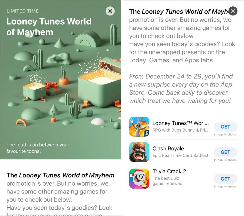 App Store 聖誕隱藏優惠