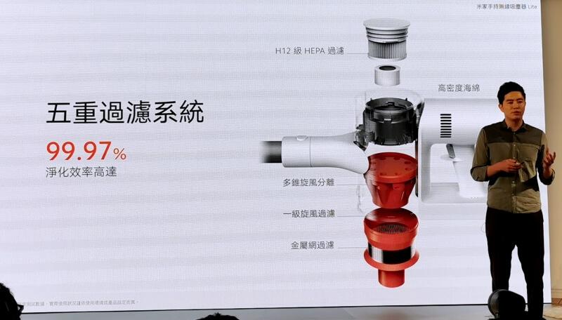 米家手持無線吸塵器 Lite 台灣售價