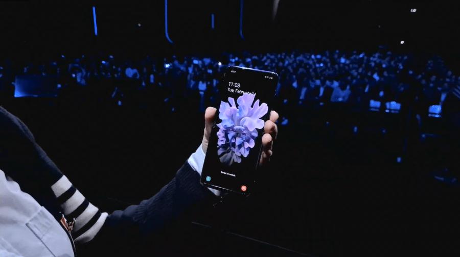 Galaxy Z Flip 外觀