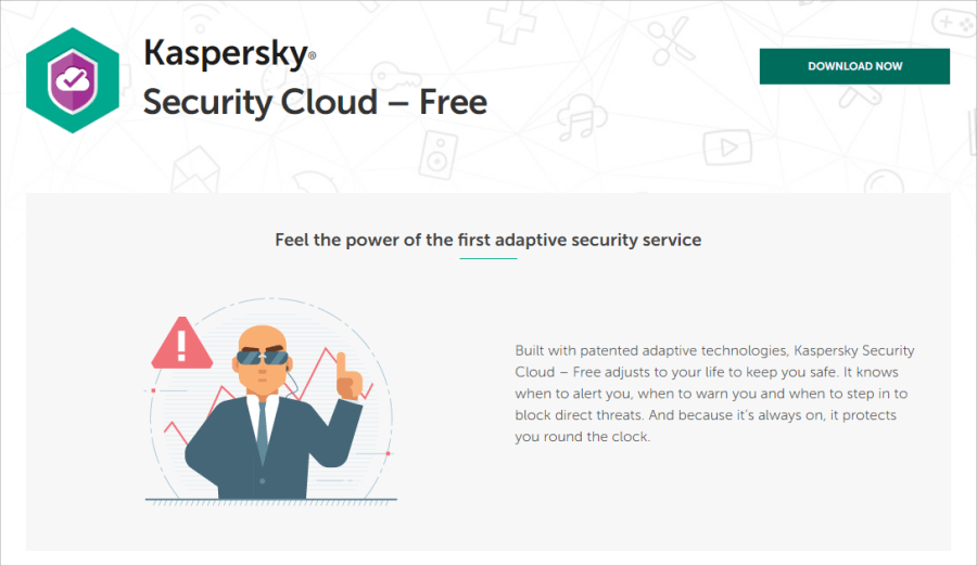 Kaspersky Security Cloud Free