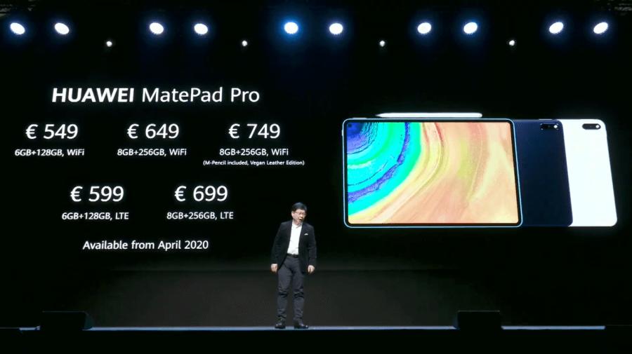HUAWEI MatePad Pro 價格
