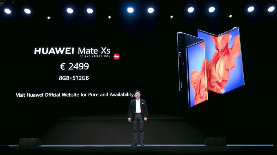 HUAWEI Mate Xs上市日期