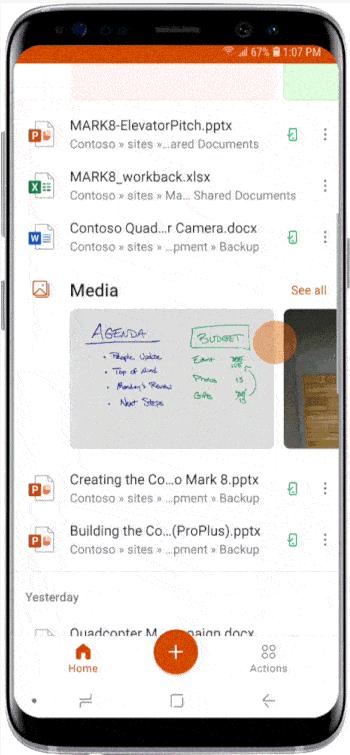 Office 手機 App