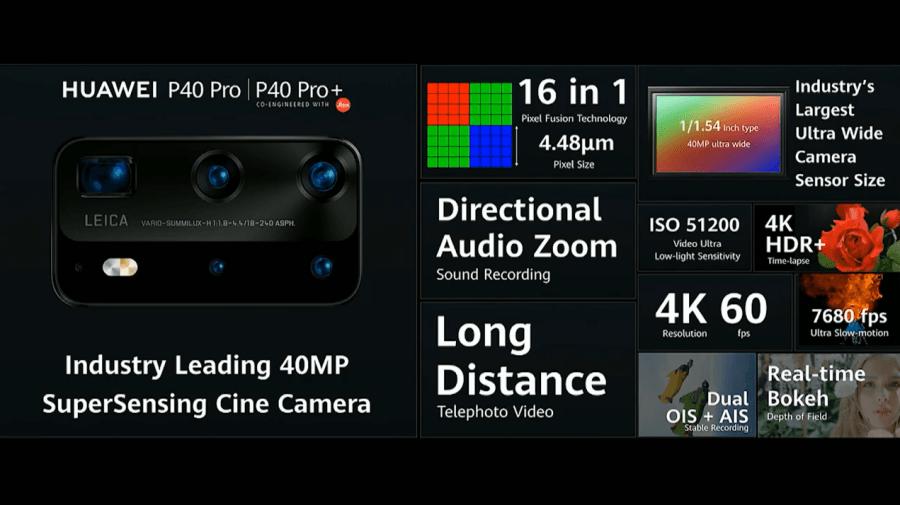 P40 Pro+ 錄影功能重點