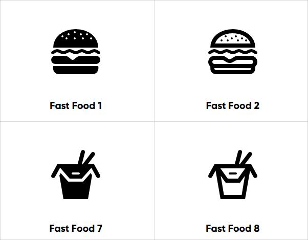 食物icon下載
