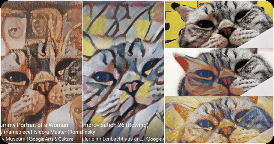 Google Arts&Culture 全新功能 Art Transfer,一秒讓畫畫大師 草間彌生 安迪沃荷 梵谷 孟克幫你作畫