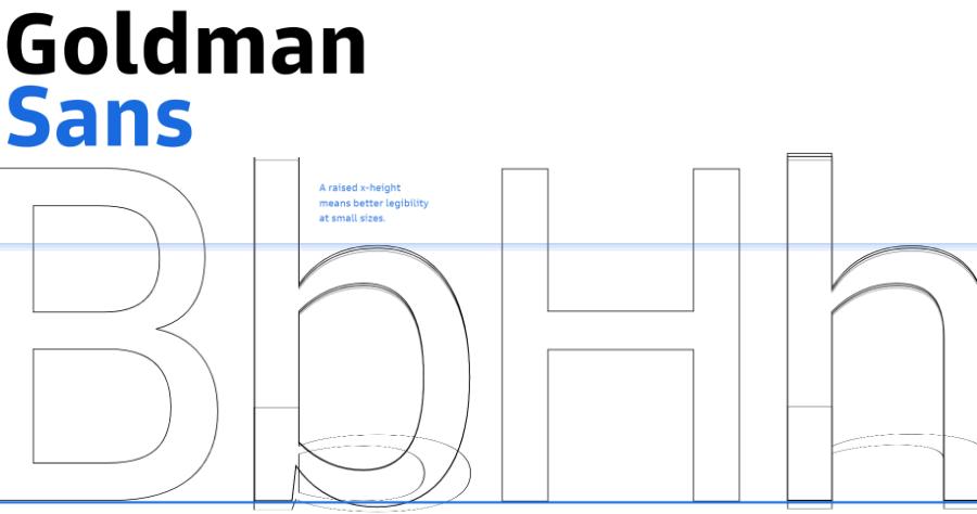 Goldman Sans