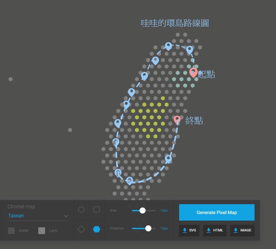 Pixel Map Generator